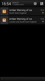 Met Office Weather App Screenshot 2