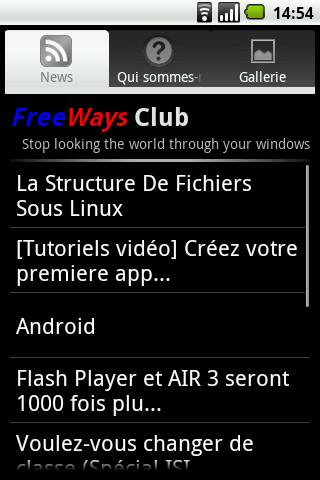 FreeWays Club - screenshot
