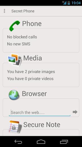 Secret Phone free