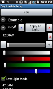 Veritas Controls Light Remote - screenshot thumbnail