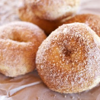 Yeasted Baked Doughnuts.