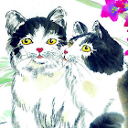 Painting Cats Puzzle icon