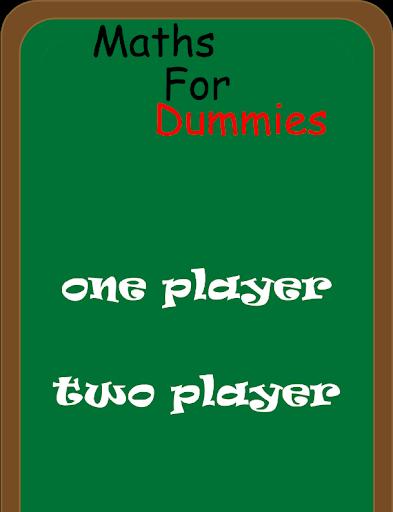 Maths For Dummies