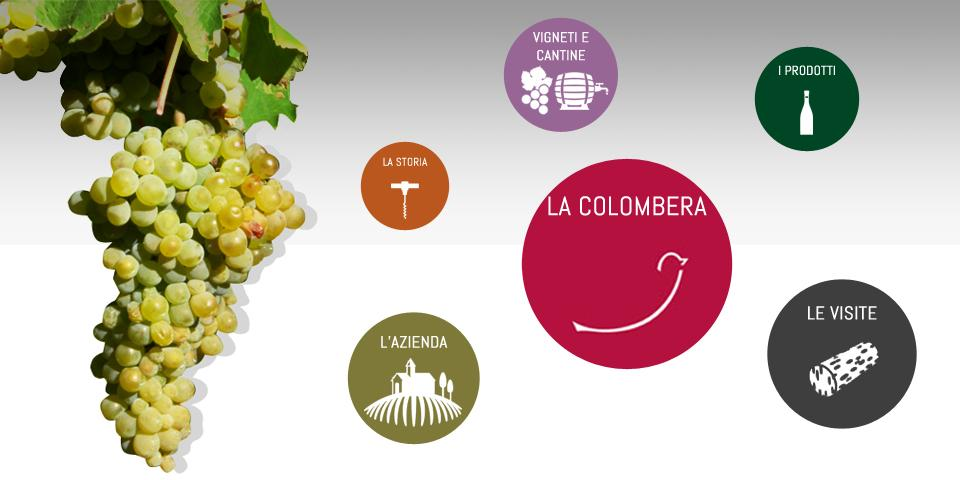 La Colombera Vini- screenshot