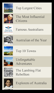 World Travel Lists - AUSTRALIA screenshot 1