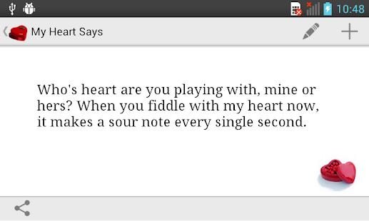 My Heart Says... - screenshot thumbnail