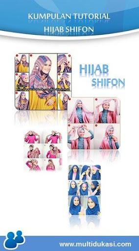 Tutorial Hijab Shifon