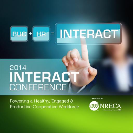 NRECA INTERACT Conference 2014 LOGO-APP點子