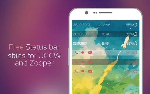 Six Status Bars for Zooper