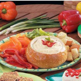 Bread Bowl Fondue.