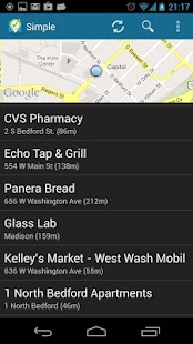 Simple Checkin for Foursquare- screenshot thumbnail