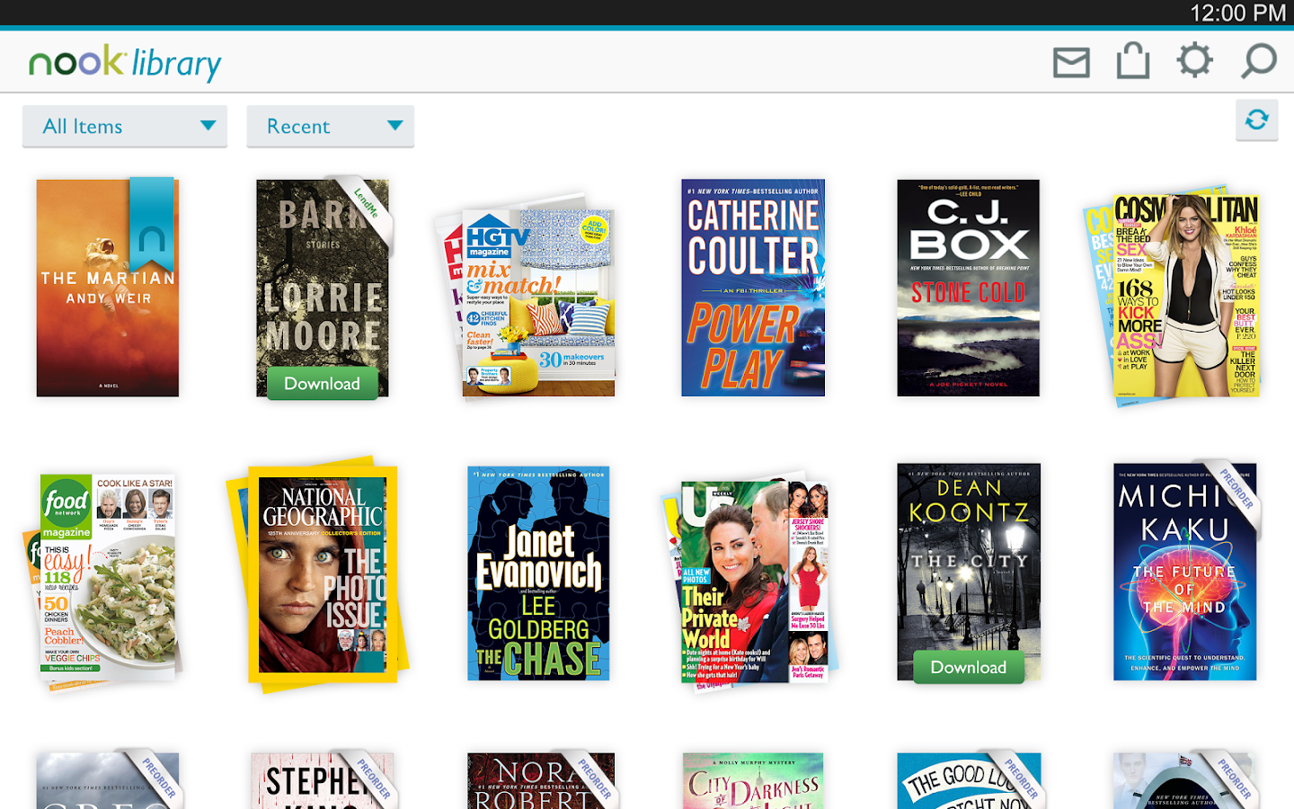 NOOK – Read Books & Magazines - Android Apps on Google Playls magazine free