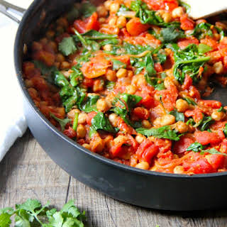Go-To Spinach & Chickpea Curry.