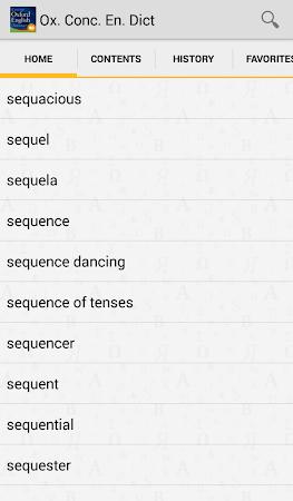 Concise Oxford English TR 4.3.136 screenshot 75442