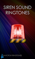 Screenshot of Siren Sounds and Ringtones