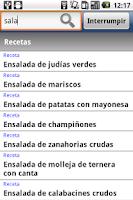 Screenshot of Bases de la cocina