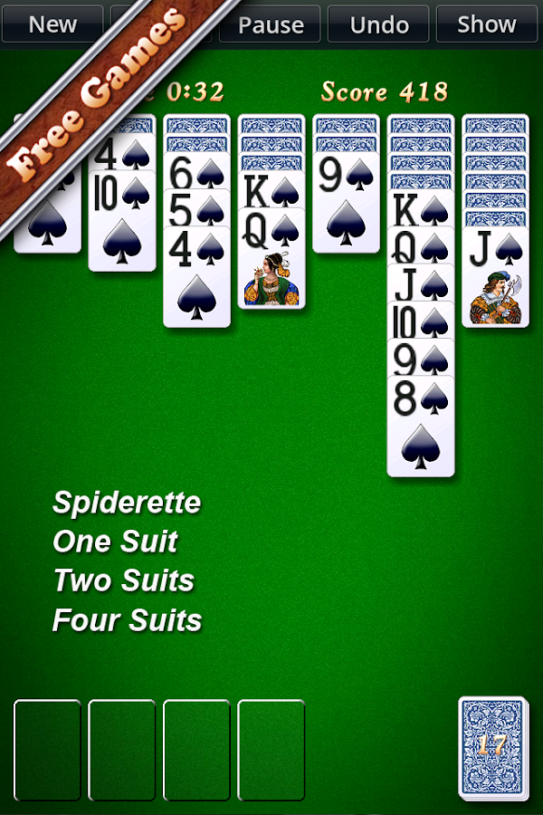 Solitaire City- screenshot