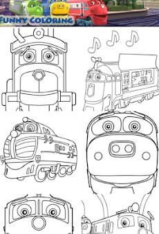 Chuggington Speed Trains Paintのおすすめ画像2