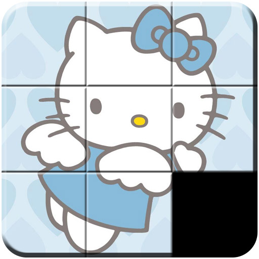 Hello Kitty Slide Puzzles