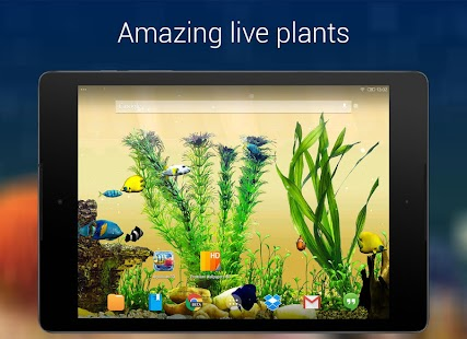 Aquarium 3D Live Wallpaper - screenshot