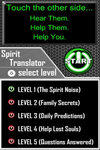 Spirit Ghost Translator