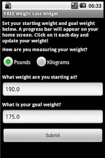 Simple Weight Loss Resolution - screenshot thumbnail
