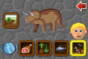 Screenshot of Dino World - Puzzle & Trivia
