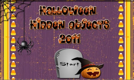 2011 Halloween Hidden Objects - screenshot thumbnail