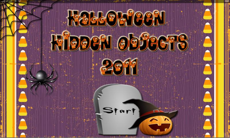 2011 Halloween Hidden Objects - screenshot