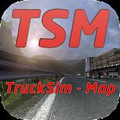 Trucksim-Map