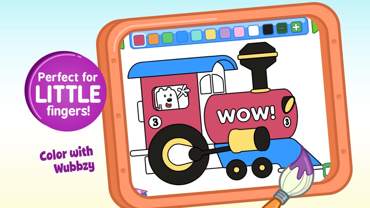 Wubbzy's Train Adventure - screenshot