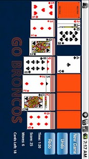 NFL Solitaire- screenshot thumbnail