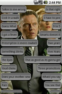 Christopher Walken Soundboard - screenshot thumbnail