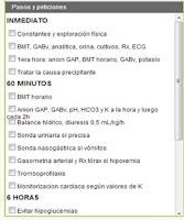 Screenshot of Cetoacidosis