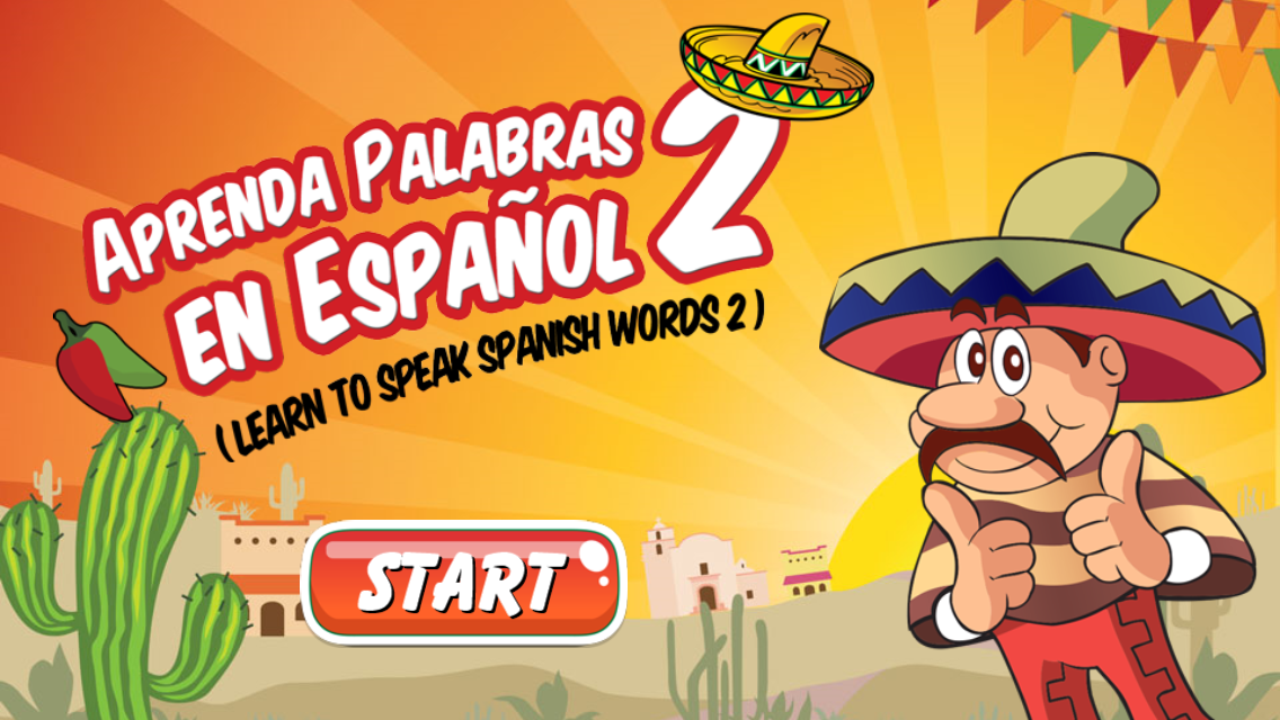 Spanish Vocabulary Flashcards- screenshot