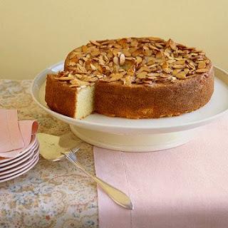 Almond Semolina Cake