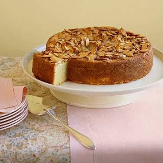 Almond Semolina Cake.