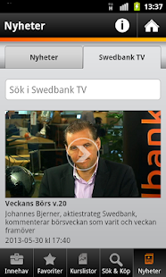 Swedbank - screenshot thumbnail