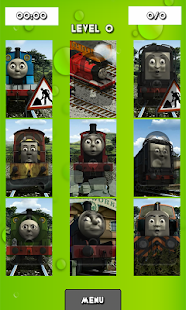 Train and Friends Puzzles