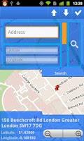 Screenshot of GPS WakeUp!
