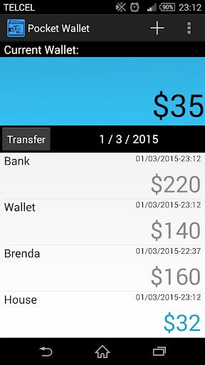 Pocket Wallet: Money Saver