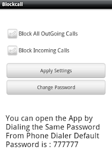 Simply Block Call Lite screenshot