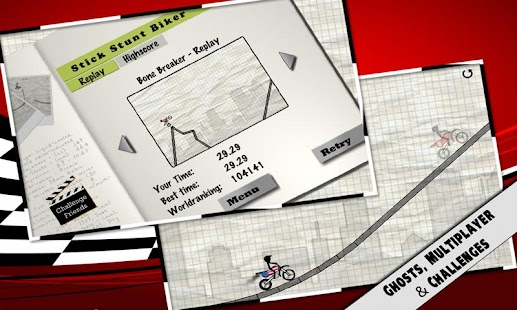 Stick Stunt Biker- screenshot thumbnail