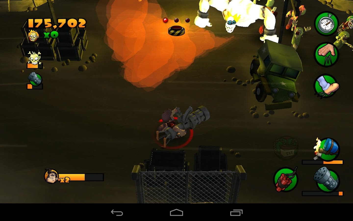 Burn Zombie Burn- screenshot