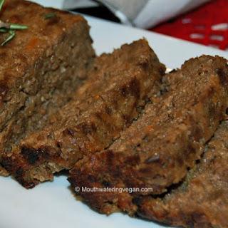 Diner-Style Vegan 'Meat' Loaf