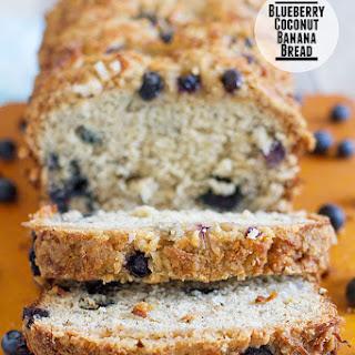 Blueberry Coconut Banana Bread Recipe