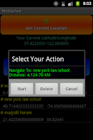 Screenshot of Locator and Navigator