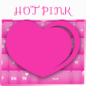 Keyboard Hot Pink