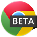 Google Chrome Android beta logo