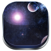 GALAXY COMET 3D LAUNCHER THEME